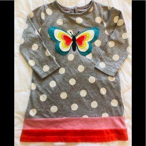 Mini Boden Appliqué Butterfly Dress